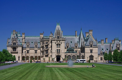 The Biltmore Estates in Asheville, NC.  Beautiful home!