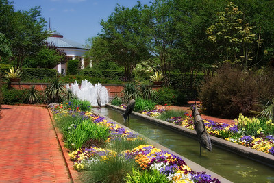 Daniel Stowe Botanical Gardens in the Spring