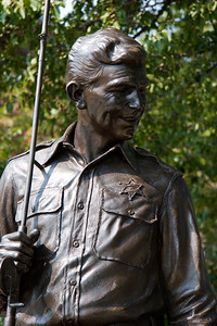 Andy Taylor statue in Mount Airy