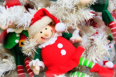 Christmas Doll Ornament