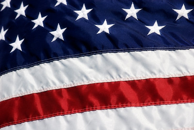 American Flag Close Up- USA FlagGreat for background.
